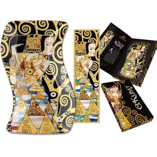 Talerz dekoracyjny G. Klimt - Oczekiwanie