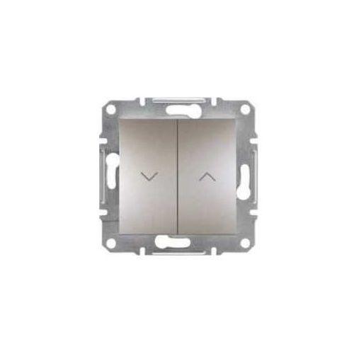 Schneider Przycisk żaluzjowy asfora eph1300169 roletowy brąz (3606480728280)