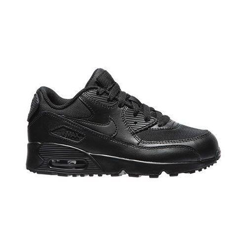 """Buty Nike Air Max 90 (PS) """"all black"""" (833420-001) - Czarny - produkt z kategorii- Pozostałe obuwie dziecięce"""