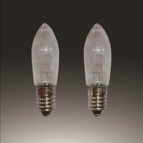 Lampki LED w formie świeczek E10 0,1W 12V 3 szt.