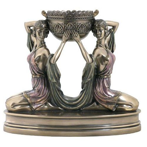 Veronese Świecznik z klęczącymi kobietami  (wu74827a4)