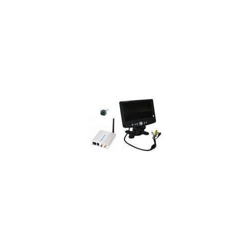 Y.c.j. electronic ltd. Mikro-kamera bezprzewodowa + odbiornik do 250m. + nagrywający odbiornik lcd 7''.
