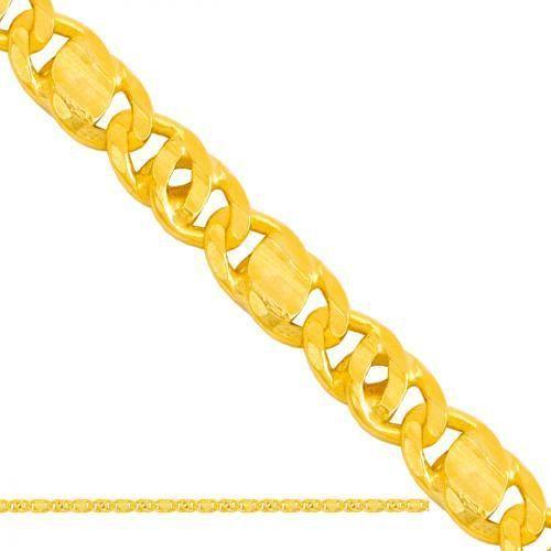 złoty łańcuszek pełny Tigra Lp093 - produkt z kategorii- Łańcuszki