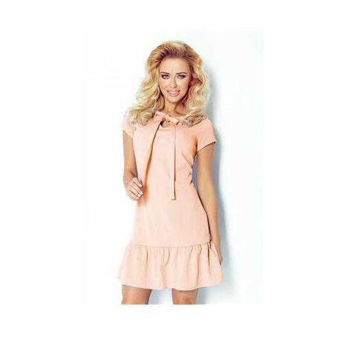 Numoco Sukienka model 101-3 peach