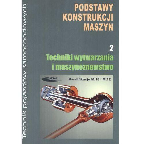 Podstawy konstrukcji maszyn część 2 Techniki wytwarzania i maszynoznawstwo (9788320618273)