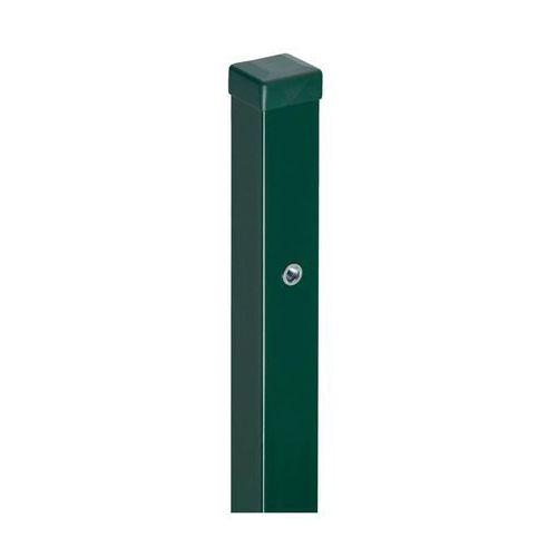 Słupek bramowy 7 x 7 x 240 cm zielony STARK POLBRAM (5900652450589)