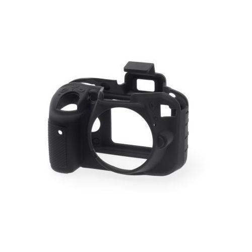 Easycover  osłona gumowa dla nikon d3300/d3400 czarna, kategoria: futerały i torby fotograficzne