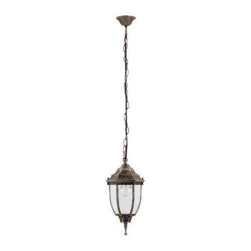 Lampa wisząca oprawa zewnętrzna Rabalux Nizza 1x60W E27 IP43 antyczne złoto 8454, 8454