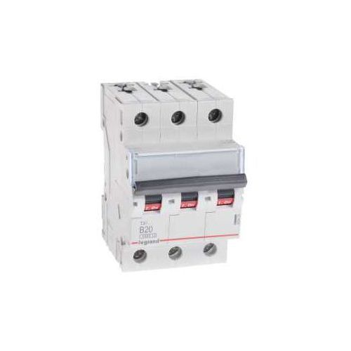Wyłącznik nadprądowy 3p b 20a 6ka ac s303 605551/403403 marki Legrand