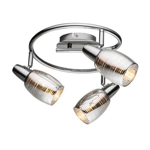 Plafon lampa oprawa sufitowa Globo Carson 3x40W E14 chrom 54986-3, 54986-3