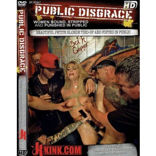 Boss of toys Dvd-public disgrace beautiful petite blonde tied-up and fisted in public (8718054008775)