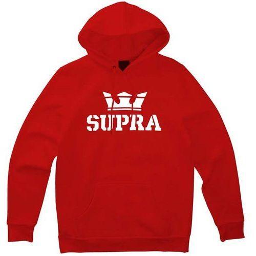 bluza SUPRA - Above Pullover Hood Formula One-White (655) rozmiar: L
