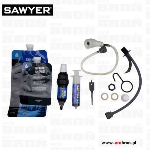 Sawyer Filtr do wody all in one (sp181) - usuwa 99.99999% bakterii i pierwotniaków