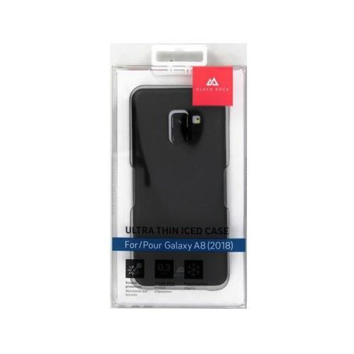 Etui BLACK ROCK Ultra Thin Iced do Samsung Galaxy A8 (2018) Czarny 2070UTI02, 180858