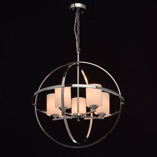 Mw-light Lampa wisząca loft - chromowana kula na 5 żarówek loft (285010405) (4250369164042)