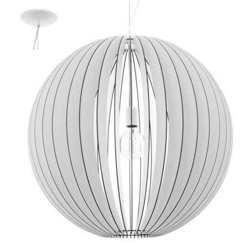 Lampa wisząca cossano śr. 70 cm - biała, 94441 marki Eglo
