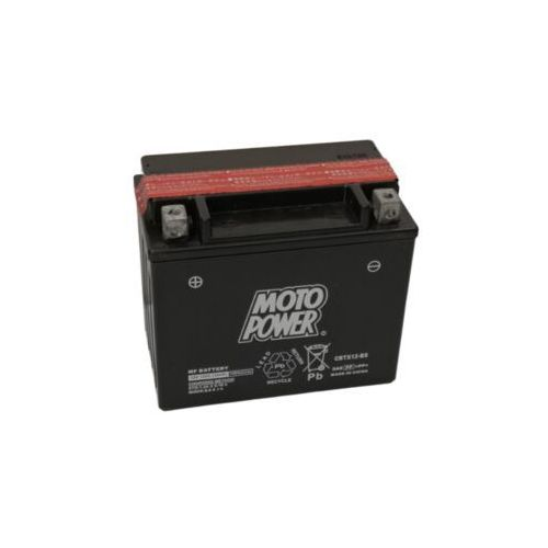Akumulator motocyklowy Moto Power CBTX12-BS YTX12-BS 12V 10Ah 180A EN L+