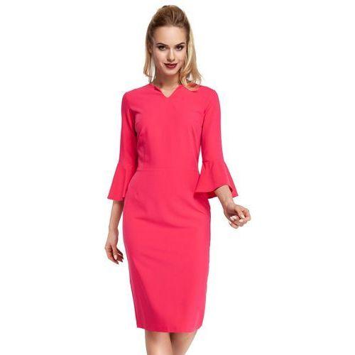 M299 sukienka różowa, Moe