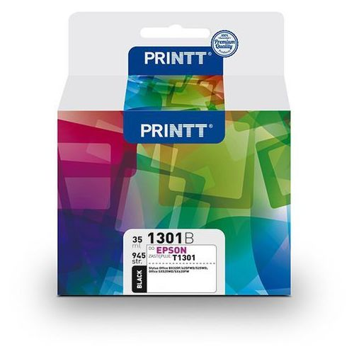 Ntt system Tusz printt do epson nae1301b (t1301) czarny 35 ml