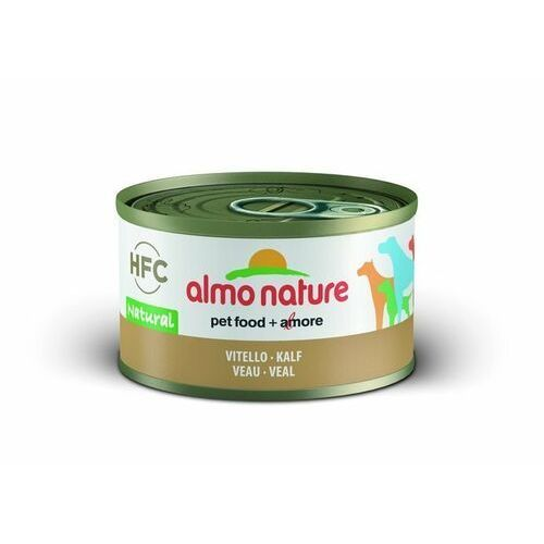 Almo nature hfc natural cielęcina dla psa 6x95g