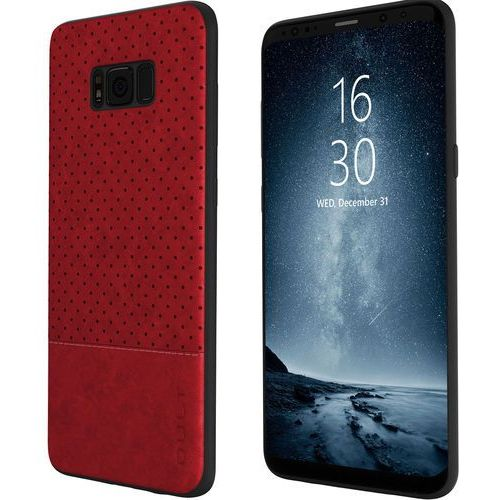 Etui QULT Back Case Drop do Samsung Galaxy S8 Czerwony (5901386713490)