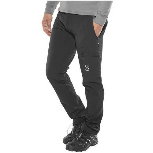 Haglöfs Lizard Spodnie długie Mężczyźni Regular czarny M-standardowe 2019 Spodnie turystyczne (7318841106885)