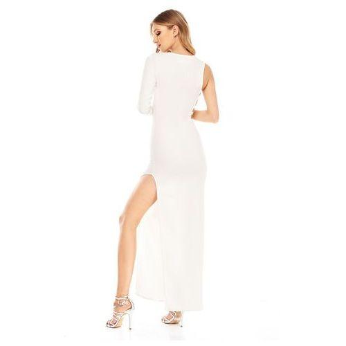 Sukienka vika w kolorze kremowym marki Sugarfree