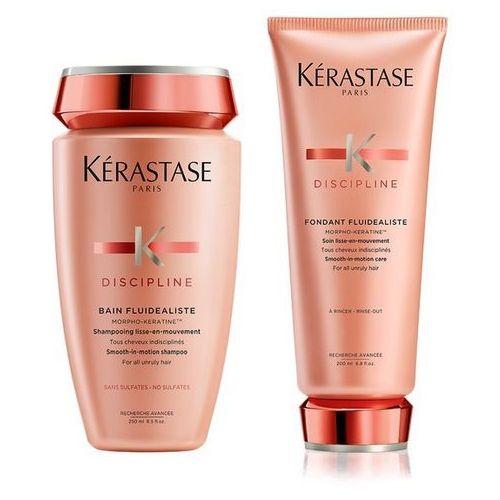 Kerastase Fluidealiste | Bezsiarczanowy zestaw dyscyplinujący włosy: szampon 250ml + odżywka 200ml (9753197531243)