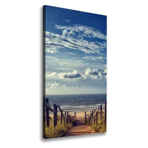 Foto obraz na płótnie Ścieżka na plażę
