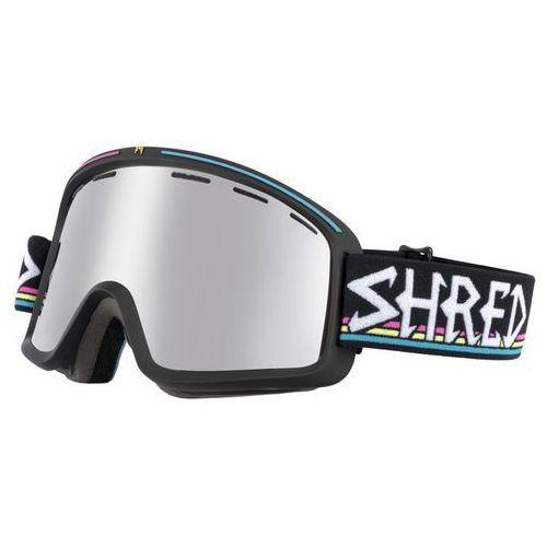 Shred Gogle narciarskie, snowboardowe monocle black/shrasta shrasta platinium s3