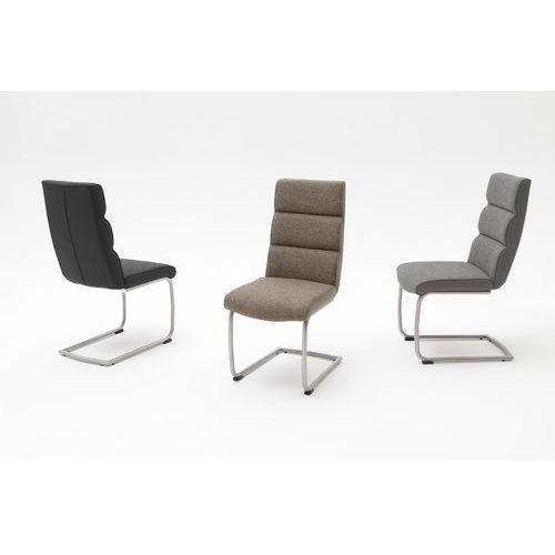 Krzesło tkanina + ekoskóra KAMA A 46/64/101 cm
