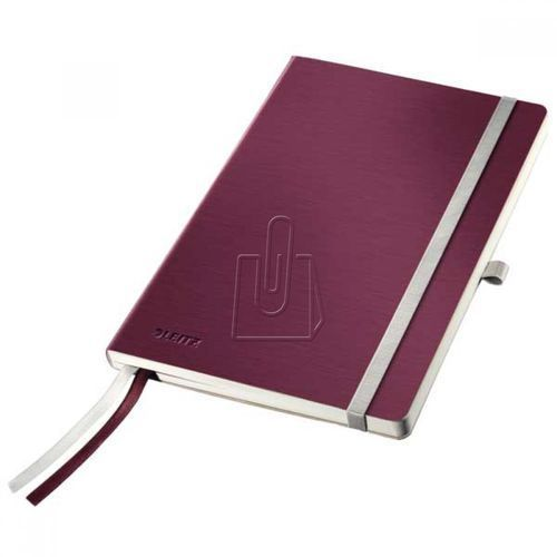 Notatnik Leitz Style A5 80 kratka miękka oprawa bordo 44880028, BP820439