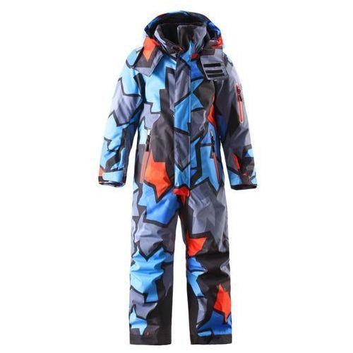 Kombinezon Reima 1cz narciarski ReimaTec REACH niebieski wzór - niebieski wzór