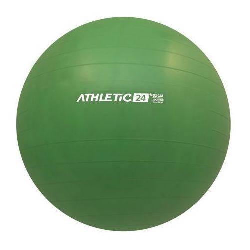 classic 65 zielona - piłka fitness - zielony marki Athletic24