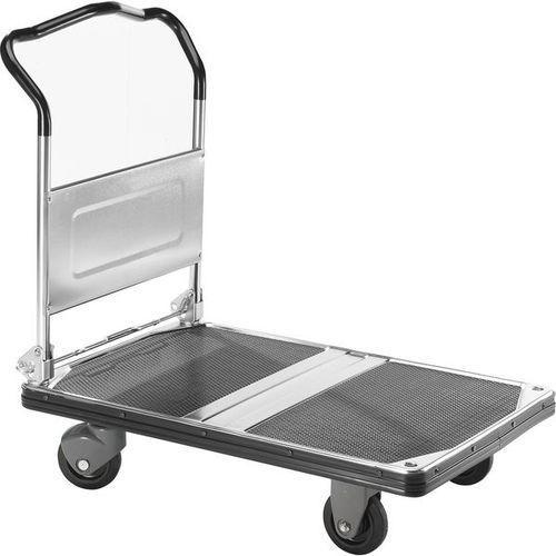Wózek platformowy PREMIUM 300, składany, nośność 300 kg,pow. ładunkowa: dł. x szer. 900 x 600 mm
