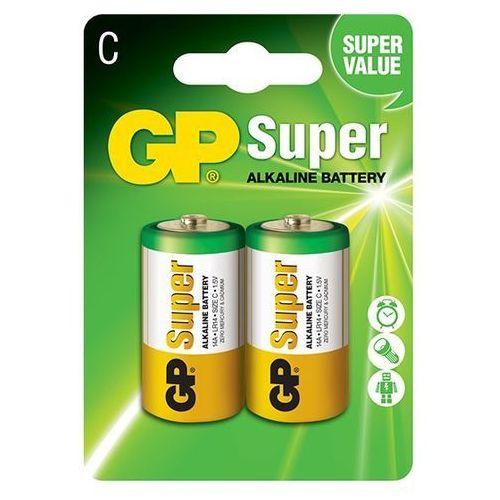 2 x bateria alkaliczna GP Super Alkaline LR14/C z kategorii Baterie