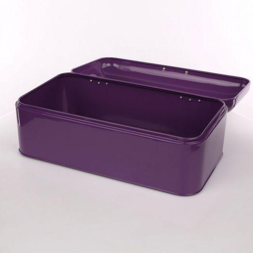 Altom Chlebak kolorowa kuchnia kuferek fioletowy (5901720644541)