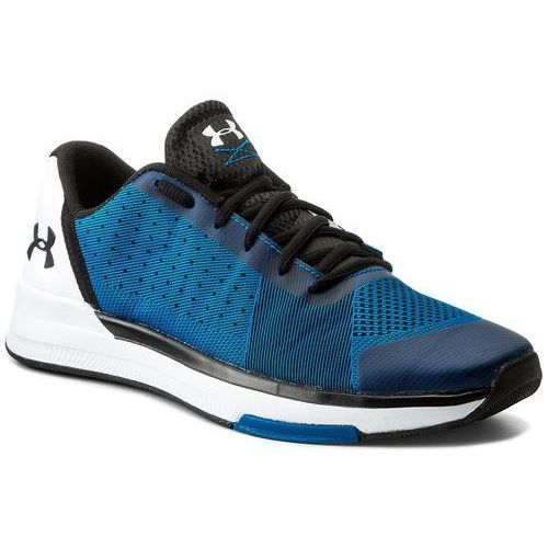 Under armour Buty - ua showstopper 1295774-899 csb/wht/blk