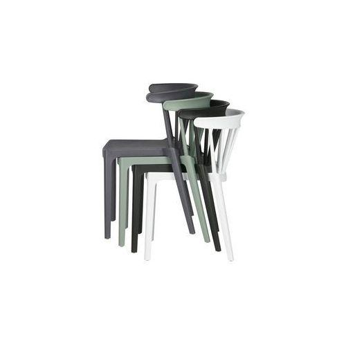 Woood Krzesło Bliss, białe 378634-W, 378634-W