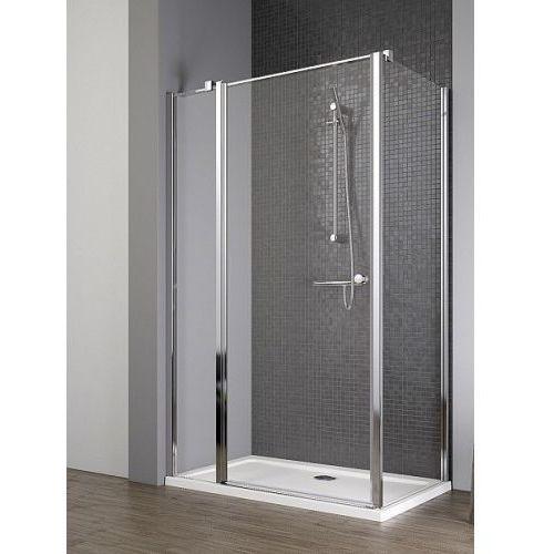 Radaway EOS II KDJ drzwi 100 lewe x ścianka 80 prawa wys. 195 cm szkło przejrzyste 3799422-01L/3799430-01R