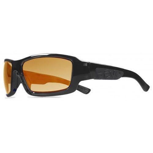 Okulary słoneczne re1005 straightshot serilium polarized 01 or marki Revo
