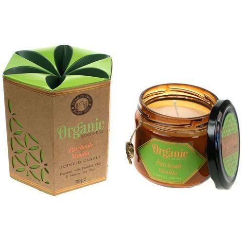 Song of india sojowa świeca zapachowa patchouli vanilla 200g (8903833901402)