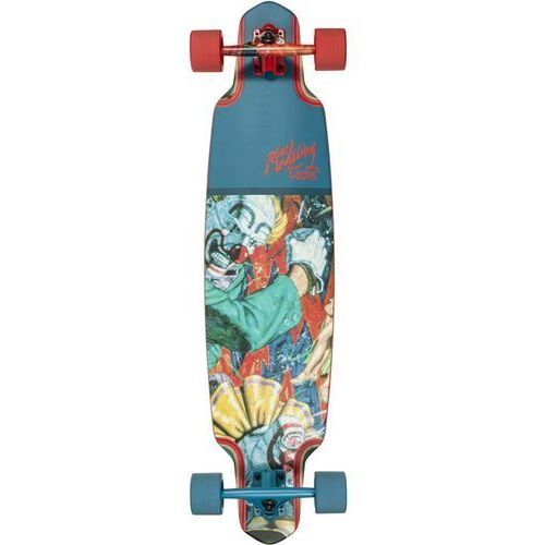 Dusters Longboard - two fisted buffoons lb 38 colbalt/red (colred) rozmiar: 38