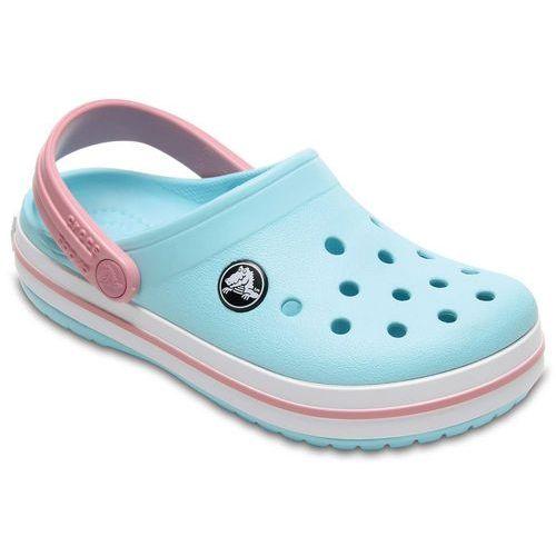 Crocs CROCBAND Sandały kąpielowe ice blue/white (0887350984200)