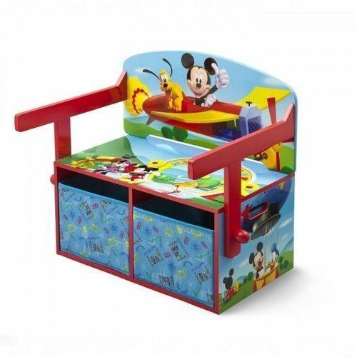 Delta Myszka Mickey Miki Krzesełko ze stolikiem biurko 2w1 TB84912MM