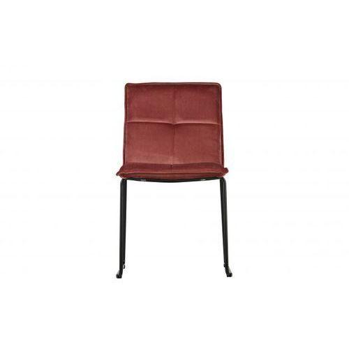 Woood Krzesło Set of 2 różowe 373575-R, kolor różowy
