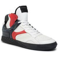 Emporio armani Sneakersy - x4z082 xm191 p070 opt.white/lava/eclip