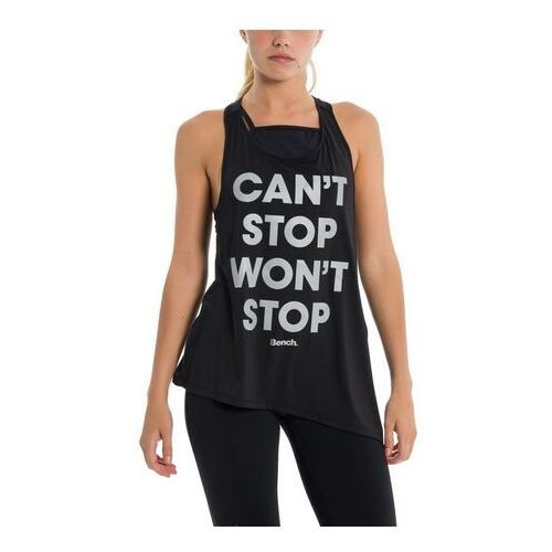podkoszulka BENCH - Can`T Stop Won`T Stop Black Beauty (BK11179) rozmiar: S, kolor czarny