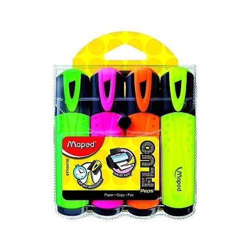 Zakreślacze fluo peps 4 kolory 742547 marki Maped