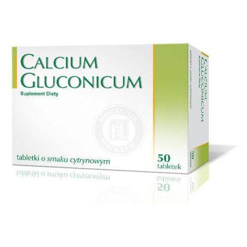 Tabletki CALCIUM GLUCONICUM x 50 tabletek